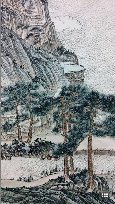《松鹤鸣泉》——艰辛的创作历程